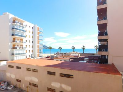 Photo for Holiday apartment 50 m from the beach in Santa Margarita, Roses