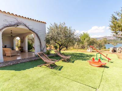 Photo for Rustic Villa with Wi-Fi, Air Conditioning and Beautiful Garden