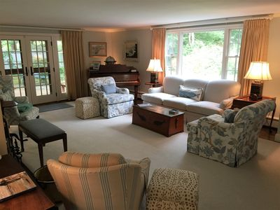 Photo for Central AC, Heated Pool, Wi-Fi, Outdoor Shower, fFrepit, Gas Grill, Beach Pass!