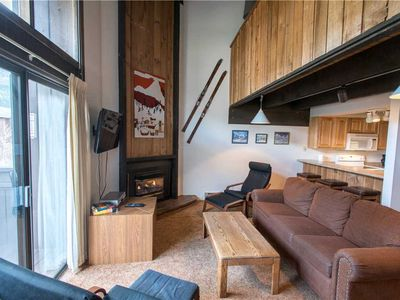 Photo for Ski-in/Walk-out condo, outdoor hot tub, free wifi, & parking.