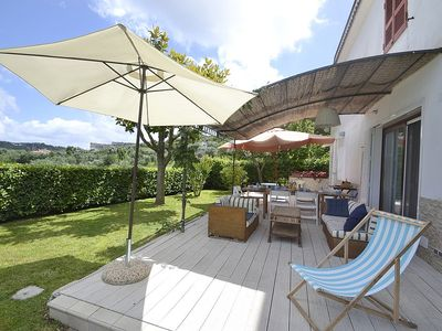 Photo for Villa Falena: A bright and cheerful villa situated on a promontory facing the sea, with Free WI-FI.