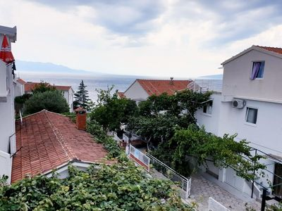 Photo for Three bedroom apartment with terrace and sea view Podaca, Makarska (A-515-a)