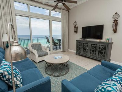 Photo for Scenic Views From This 11th Floor Unit Overlooking The Pool And Gulf Coast