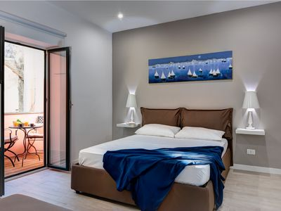 Photo for Balconcino apartment in the heart of Sorrento Tasso square