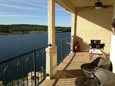 Photo for Lakefront Hill Country Hacienda on Lake Travis