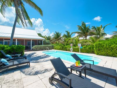 Cayman Dream: Rum Point Beach Bungalow with Pool for Oceanfront Living