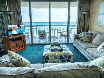 Photo for On the Ocean, King Bed, Walk in MB Shower, Secure WIFI, Sweet Place