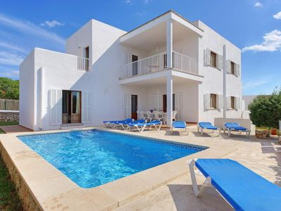 Photo for 5 bedroom Villa, sleeps 11 with Air Con, FREE WiFi and Walk to Beach & Shops