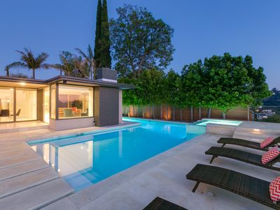 Photo for Spectacular Sherman Oaks Modern Villa with Pool, Incredible Views, and Fire Pit