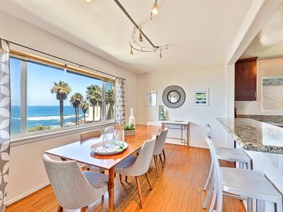 Photo for Sunny Condo, Ocean Views, Short Walk to Town & Beach