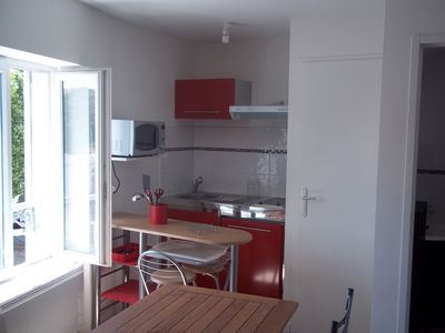Photo for Nice furnished studio center for 2 people