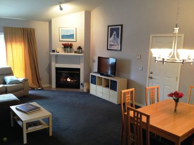 Photo for 2 Bdrm, Lrg Kitchen and living room, Prime mountain biking and skiing!