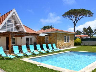 Photo for Property within 2,5km from the beach, with private swimming pool.