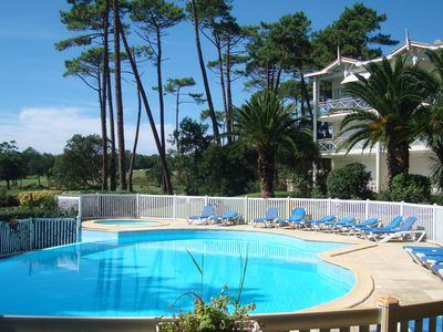 Photo for Luxury 2 bedrooms apartment,close to beaches,golf and Landaise forest, sleeps 7