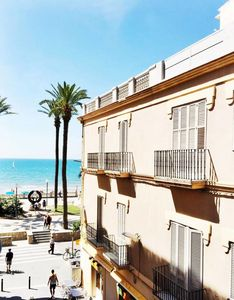Photo for The room - Romantic studio in the heart of Sitges