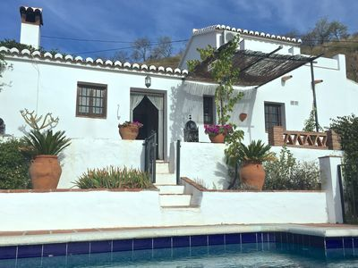 Photo for Beautiful refurbished Finca. Great views & pool. 35 mins to sea. Wifi. UK TV