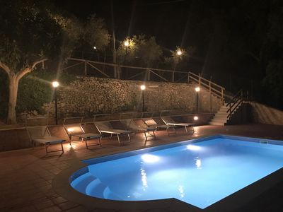 Photo for Sperlonga-Itri Villa 6 bedroom with swimming pool in private garden