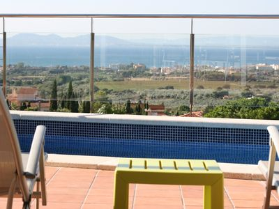 Photo for Luxury Villa Rosas, Pool, Magical sea and mountain views