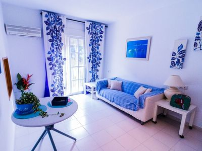 Photo for APARTMENT WITH GARAGE 50 METERS FROM THE BEACH IDEAL COUPLES AND BABY