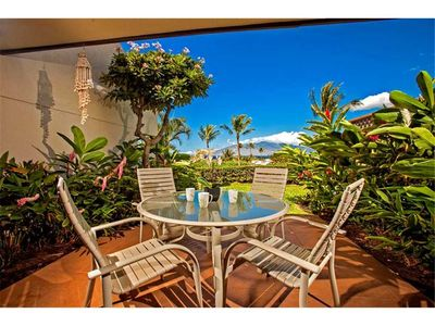 Photo for Ground floor one bedroom condo with many upgrades throughout at the Maui Kamaole J-116
