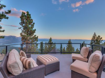 Photo for Tahoe Panorama | Rooftop Deck | Panoramic View of Lake Tahoe | Concierge Service