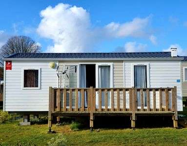 Photo for 2 bedroom mobile home in Normandy
