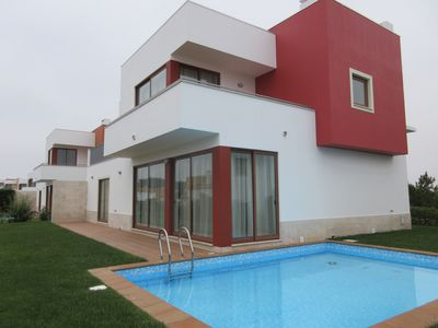 Photo for JT5 PL-June - 20% discount - Fabulous 3 bedroom villa with garden and private po