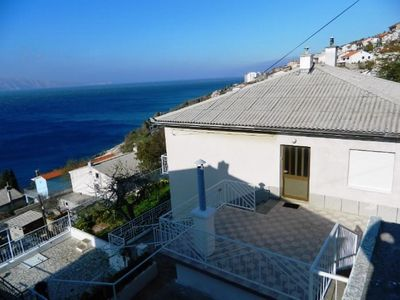 Photo for Holiday apartment with air conditioning and sea view
