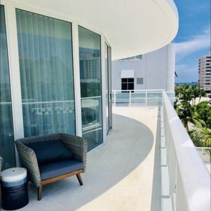 Photo for Fully Furnished 3 bedroom 3.5 Bath Condo with oversized balcony