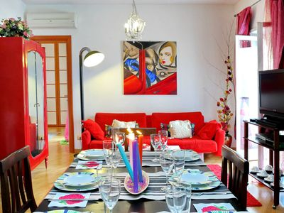 Photo for La Maison apartment in Vaticano with WiFi, air conditioning, balcony & lift.