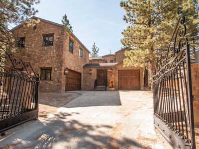 Photo for **BIG BEAR CASTLE**   ICONIC LUXURY ESTATE! MINUTES FROM LAKE! SPA! POOL TABLE
