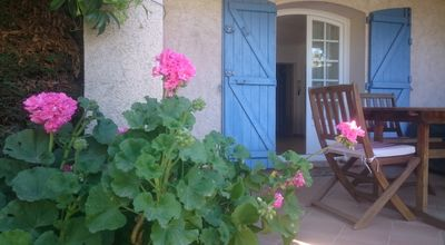 Photo for Ste Maxime RDJ villa, 2 bedrooms, private garden, terrace, WIFI, very quiet