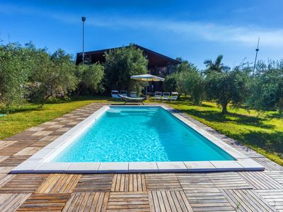 Photo for Villa Karen for 10 People with Private Pool, Sea View, WiFi, Garden, A/C