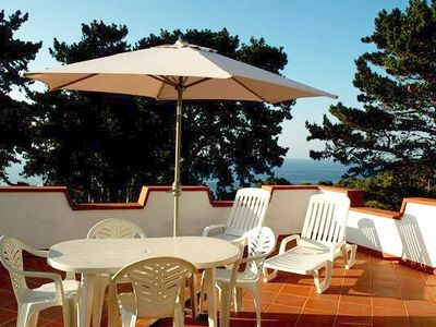 Photo for Holiday apartment with terrace and sea view - Denise 4