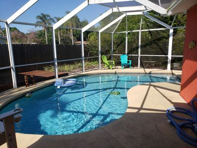Photo for Beautiful pool 10 minutes to the beach!
