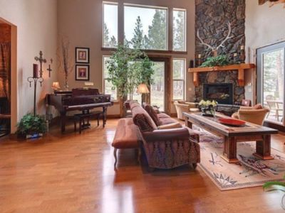 Photo for This Beautiful Home is 3400 sq ft of luxury living on  7.5 wooded acres.