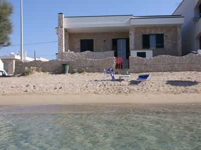 Photo for Exclusive villa on the beach of Salento
