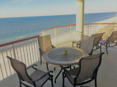 Photo for Beach Colony East, Spectacular 15th Floor Beachfront Views, Directly on beach