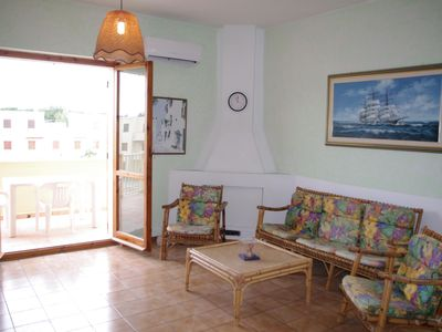 Photo for Calamaro apartment in Alghero with air conditioning, private parking & private terrace.