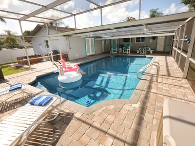 Photo for Loving Life! 4br/2ba, heated pool, spa, grill, RV parking, boat ramp access