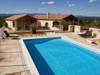 Photo for Tasteful holiday home with pool on beautiful location in the Ardèche