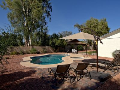 Photo for FREE HEATED HOT TUB AND OPTIONAL HEATED POOL! SLEEPS 20! 2018 HOME REMODEL!