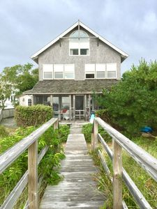 Photo for Beautiful BEACHFRONT three story home.