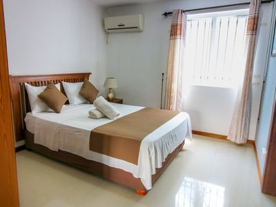 Photo for MAURICE: GRAND BAY: APARTMENT MOKA FURNISHED WITH COMMON SWIMMING POOL, 2 PERS.