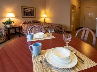 Photo for Carriage House Country Club Studio Suites