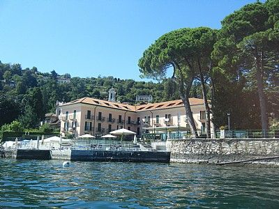 Photo for Appartamento Vitalia P: A charming two-story apartment located right on the Lake Maggiore, with Free WI-FI.
