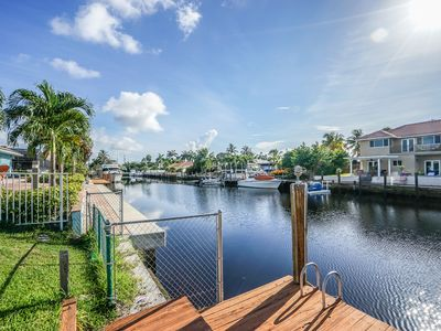 Photo for Classic Floridian Waterfront  4 bedroom 3 bathroom Home with Private Pool