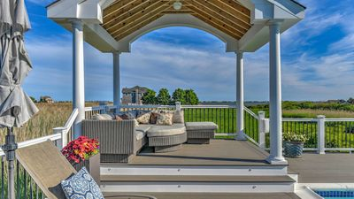 Photo for New Listing: Waterviews, Heated Pool & Hot Tub, Close to Town & Beach