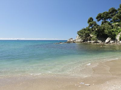 Photo for Studio at the heart of a Provencal village and only 800m from the beaches