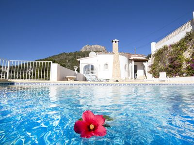 Photo for Vacation home Bougainvillea  in Calpe/ Calp, Costa Blanca - 6 persons, 3 bedrooms
